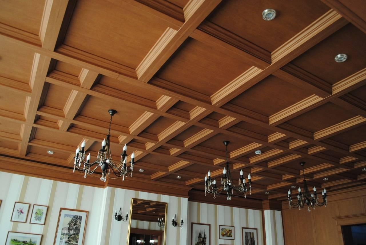 Подвесные потолки: основные виды и особенности