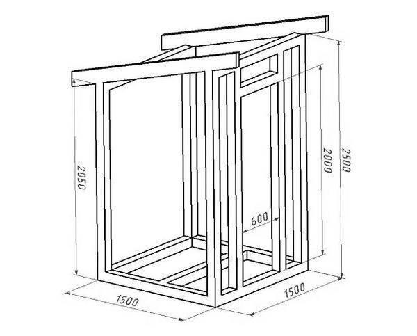 Дачный туалет своими руками с нуля: схемы, размеры, дизайн и компоновка
