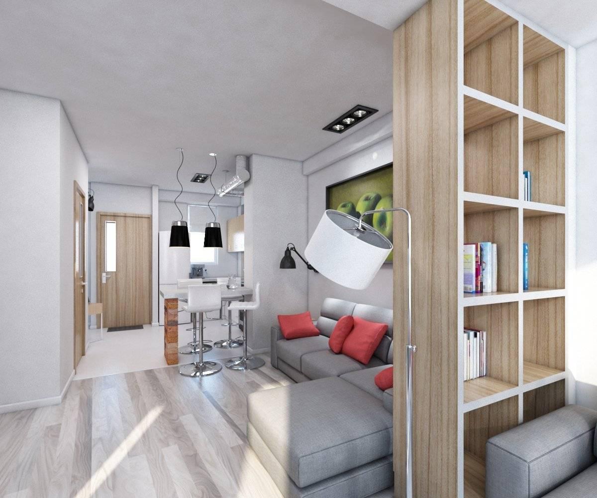 Зонирование однокомнатной квартиры: 9 способов + фото | строительный блог вити петрова