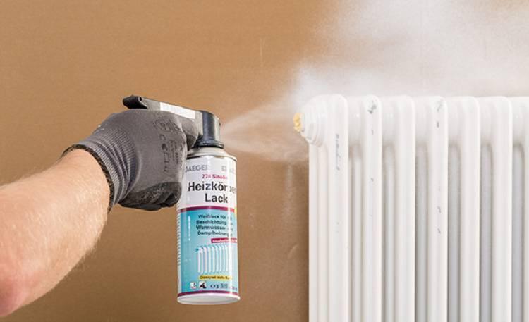 Краска для батарей отопления без запаха – какая лучше