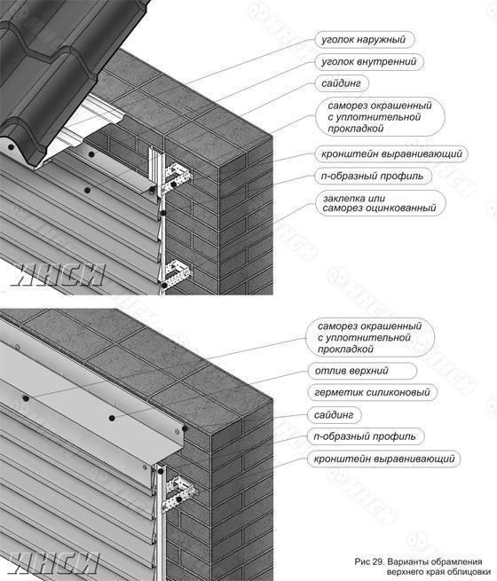 Монтаж металлосайдинга своими руками - инструкция (+схемы)