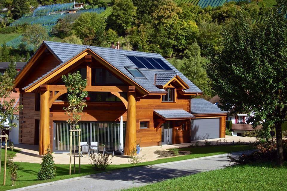 Суперсовременные технологии строительства деревянных домов