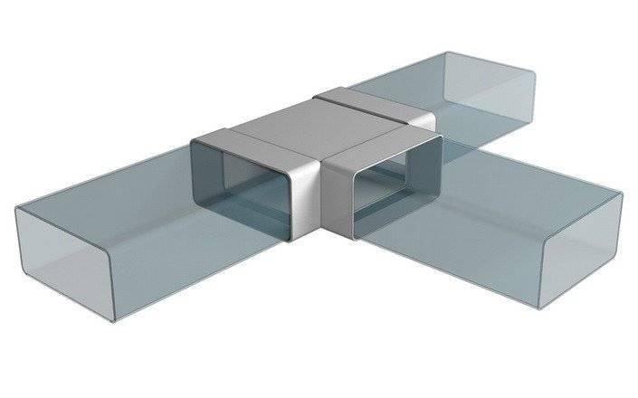 Круглые и плоские пластиковые воздуховоды для вентиляции