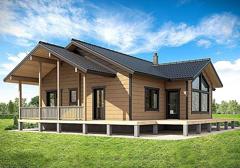 Финские дома. проекты финских домов: двухэтажные и одноэтажные