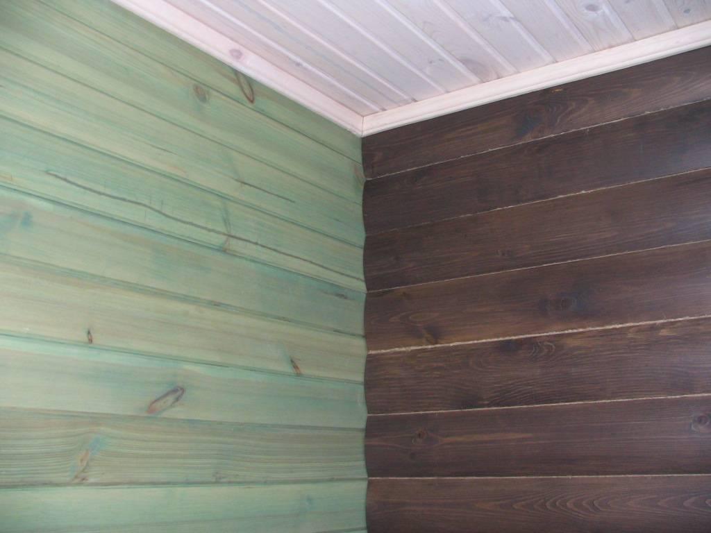 Выбор краски для деревянного потолка