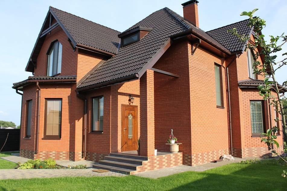 Кирпичный дом - особенности строительства, проекты домов, материалы, советы и рекомендации профессионалов. 85 фото красивых домов для вдохновения