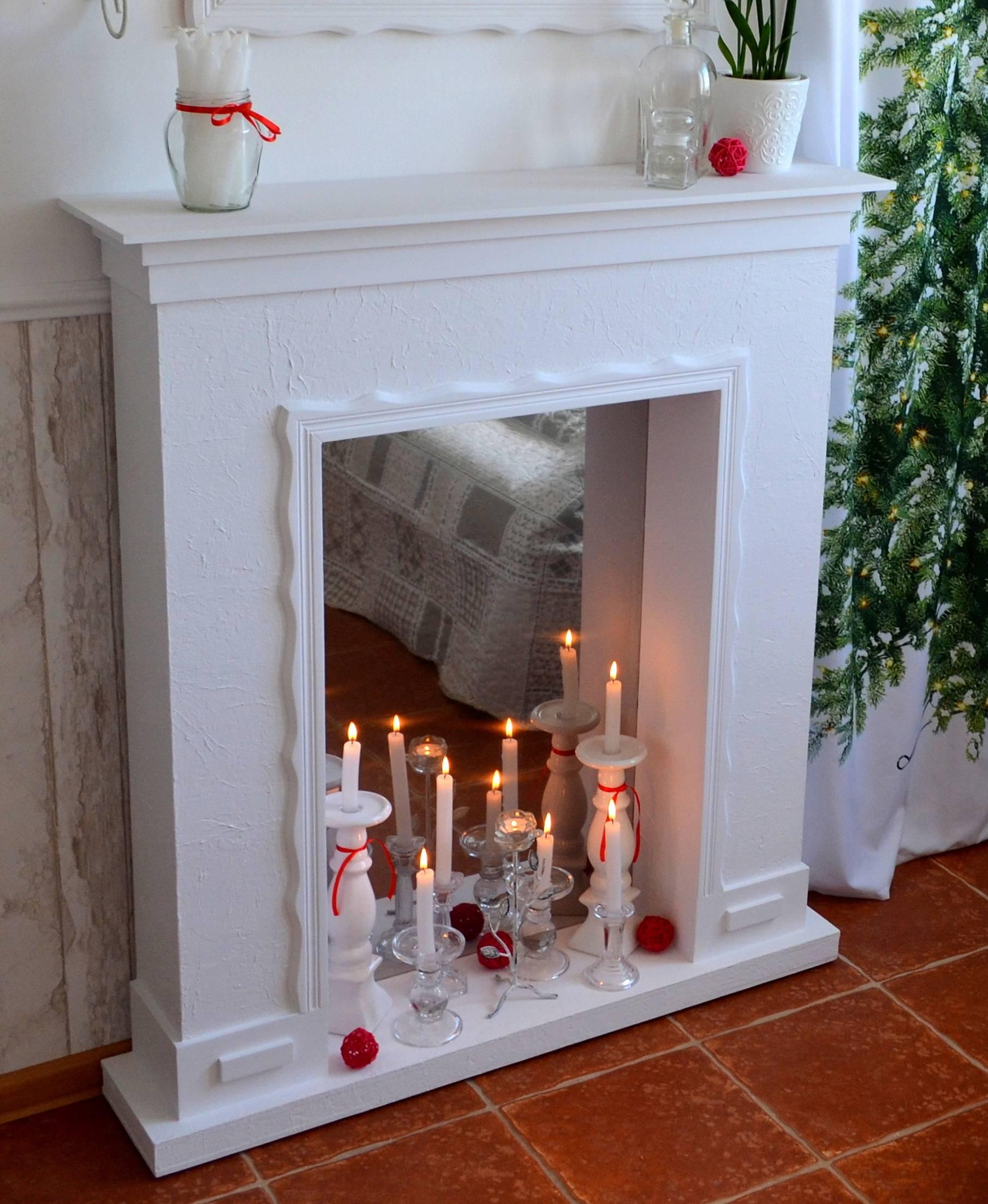 Декор камина: 115 фото простых вариантов и способов красивого оформления камина
