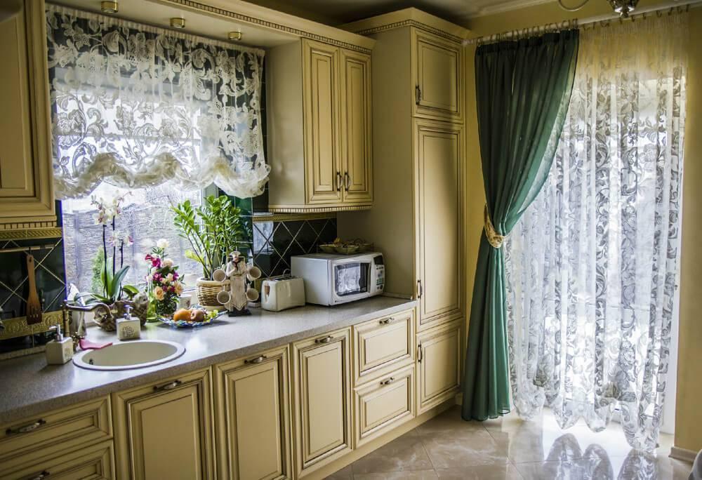 Выбираем занавески на кухню: фото 2020, современные тенденции