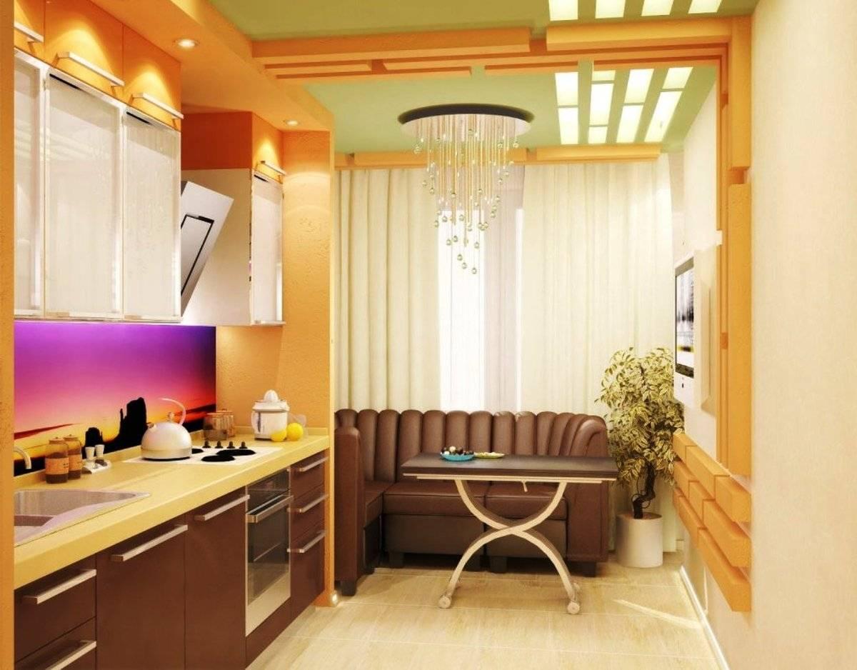 Совмещение кухни с балконом – оптимальный инструмент для увеличения пространства