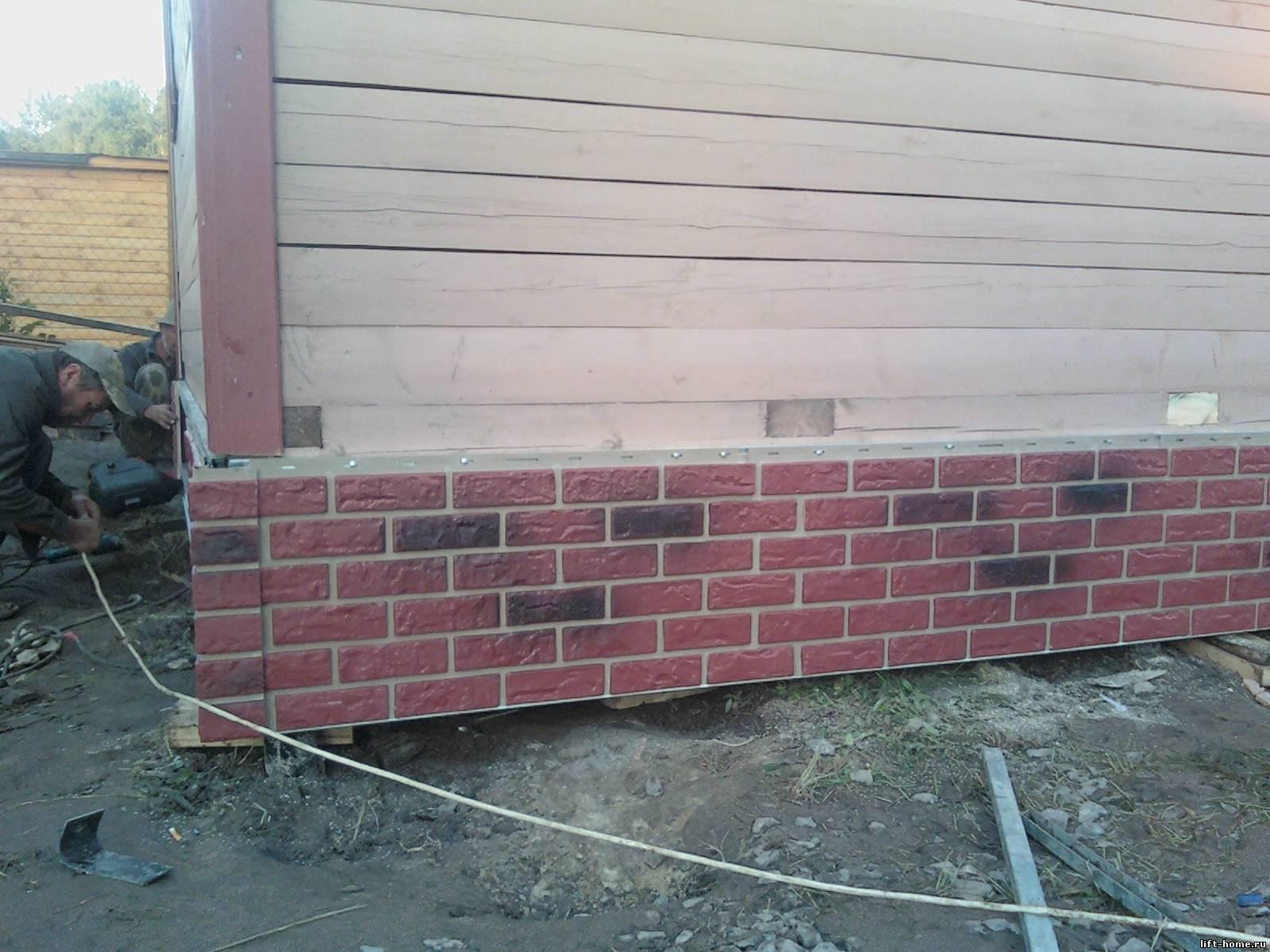 Фасадные панели под кирпич: хороший способ украсить дом без лишней нагрузки на стены