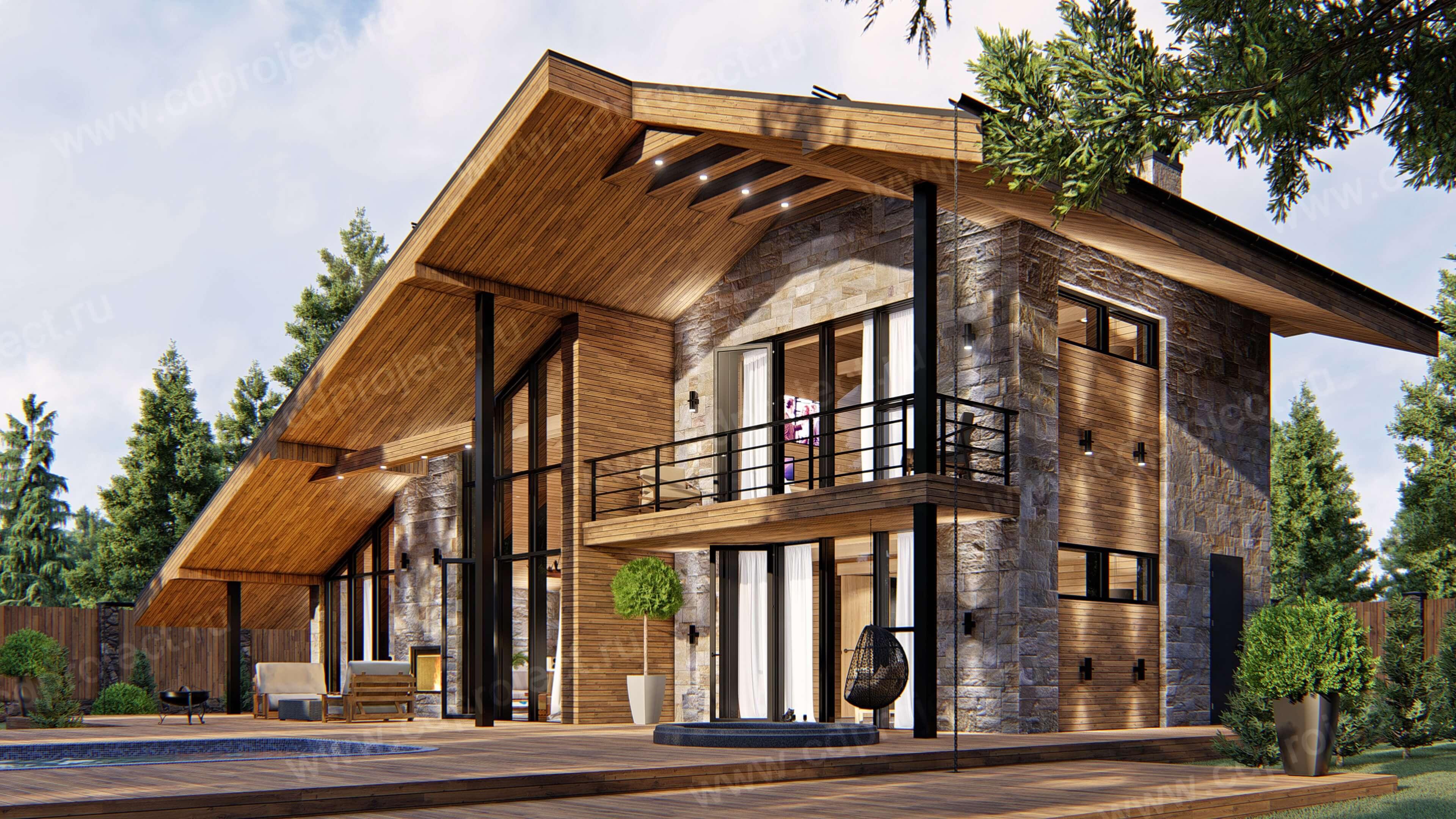 Комбинированные дома - строительство и проекты