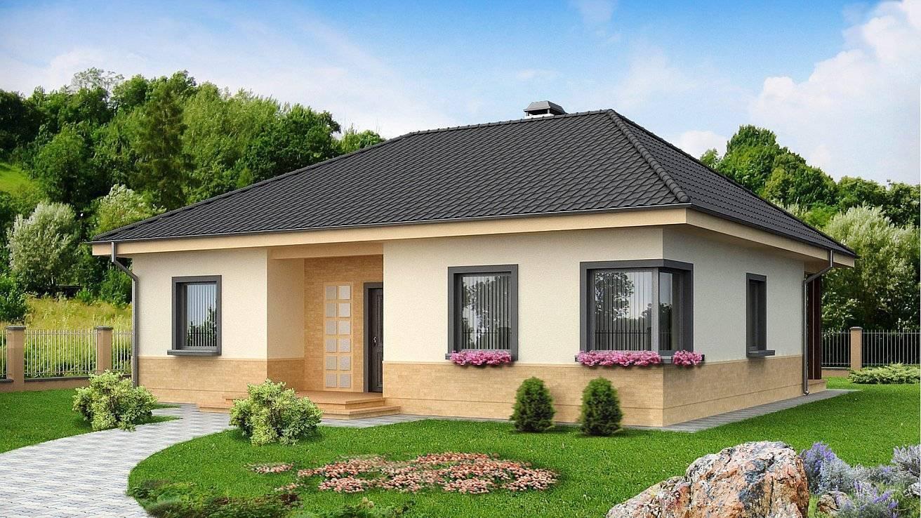 Одноэтажные дома (90 фото): проекты и идеи дизайна