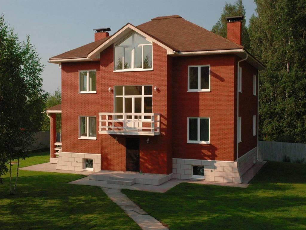 Преимущества дома из кирпича: достоинства и недостатки