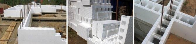 Несъемная опалубка – основные особенности разных видов конструкции, какие нужны перемычки?