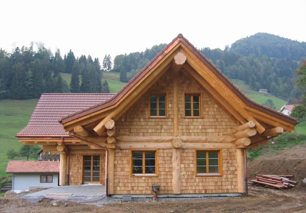 Каркасно-бревенчатая технология строительства дома: плюсы и минусы