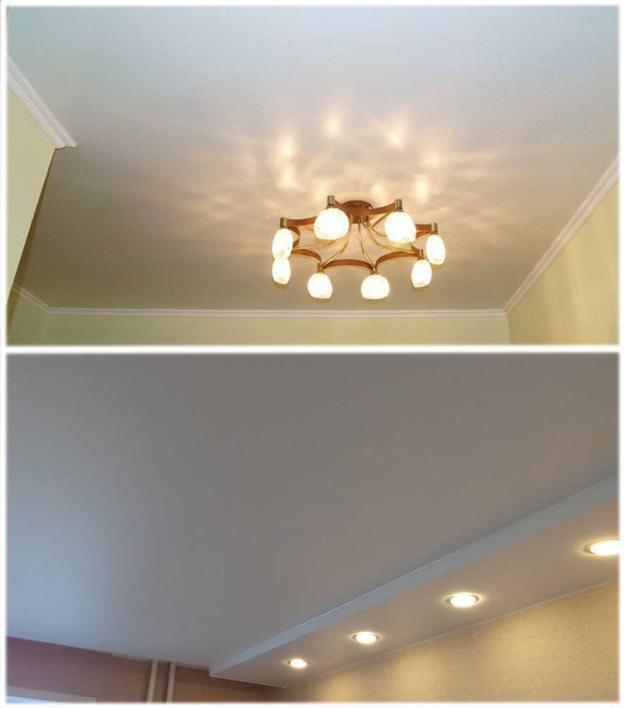 Что лучше подвесной или натяжной потолок: особенности и отличия