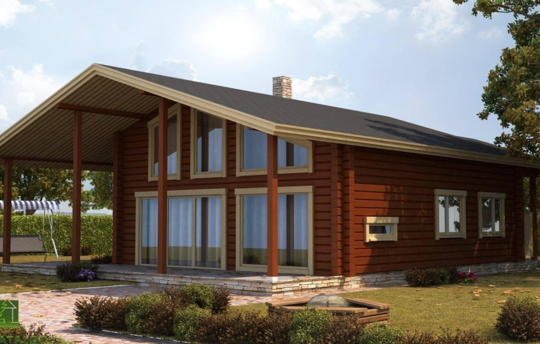 ????одноэтажные финские деревянные дома: особенности проектов и их стоимость - блог о строительстве