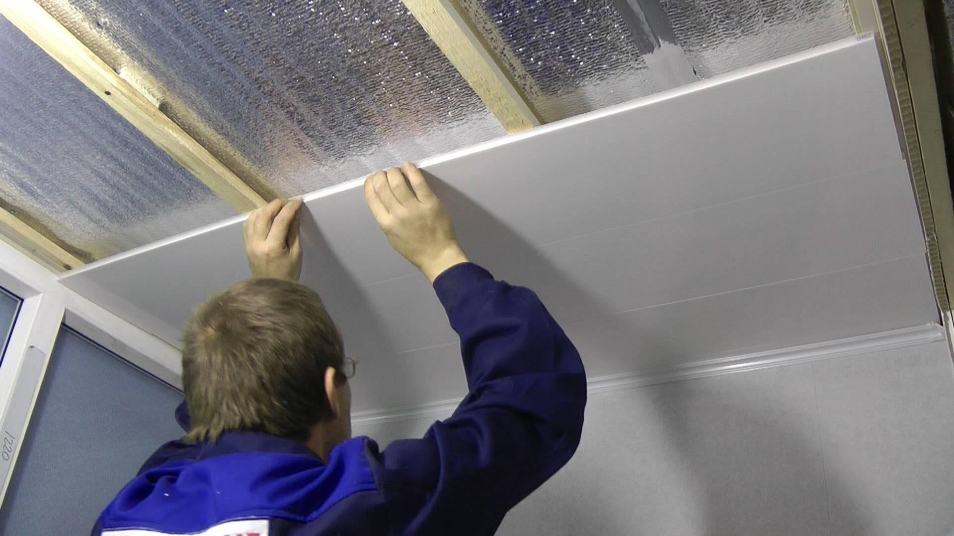 Как сделать пластиковый потолок в ванной своими руками — устройство и крепление (фото, видео)