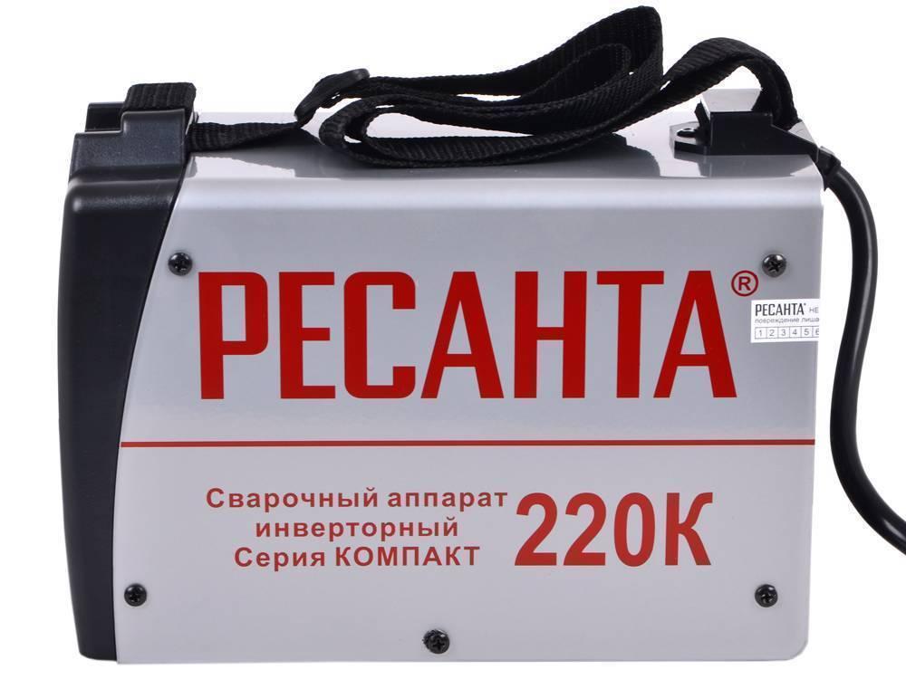 Сварочные аппараты ресанта саи 190: обзор моделей и отзывы