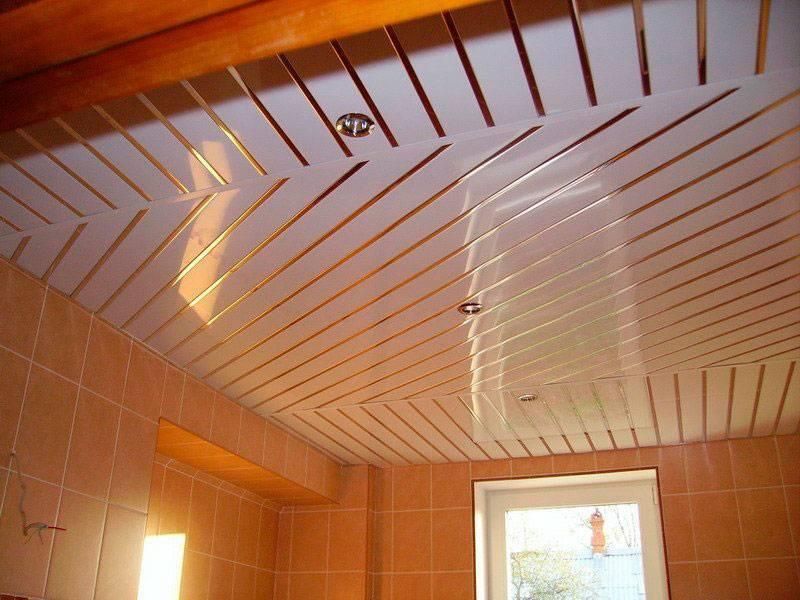 Виды алюминиевых реечных потолков, стоимость комплекта и их ремонт