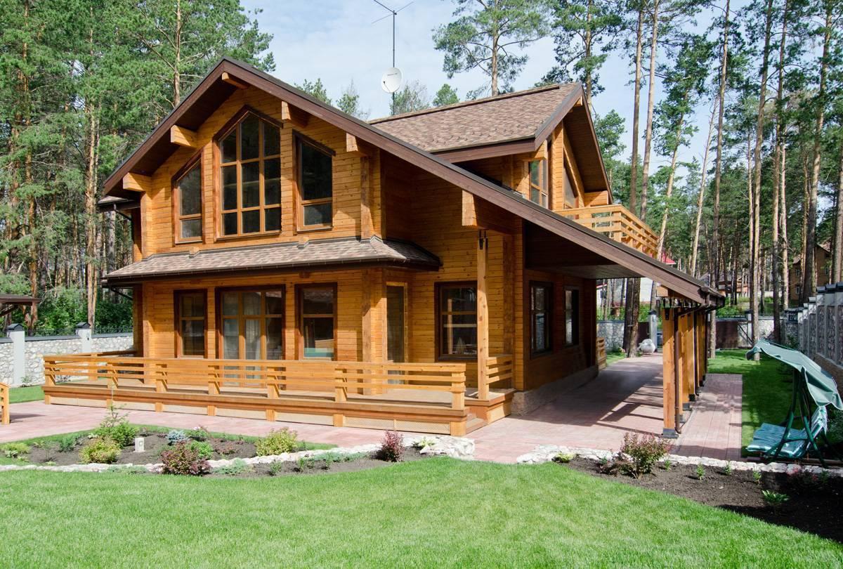 Дома из клееного бруса нижний новгород - проекты под ключ и цены
