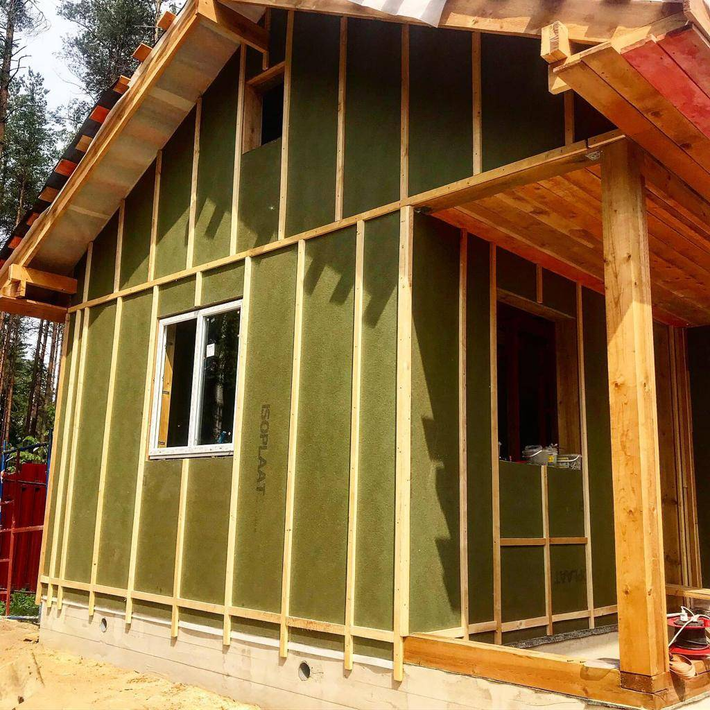 Стены финского каркасного дома. как строят в финляндии?