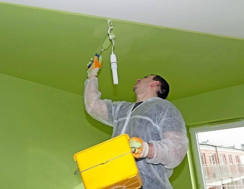 Как покрасить потолок самостоятельно: стильные идеи декора и рекомендации по нанесению узоров (100 фото)