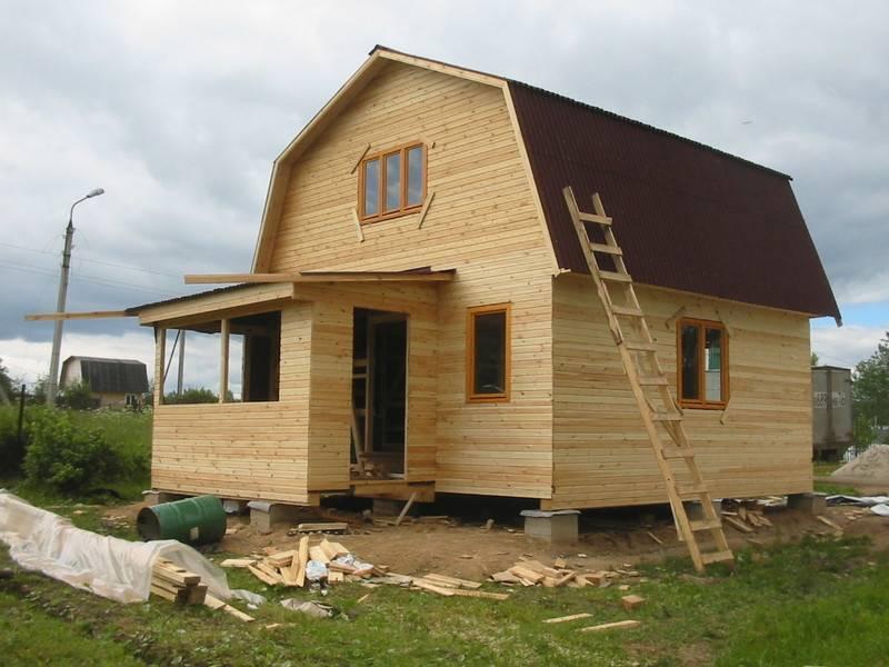 Строительство дачного дома своими руками - инструкция!