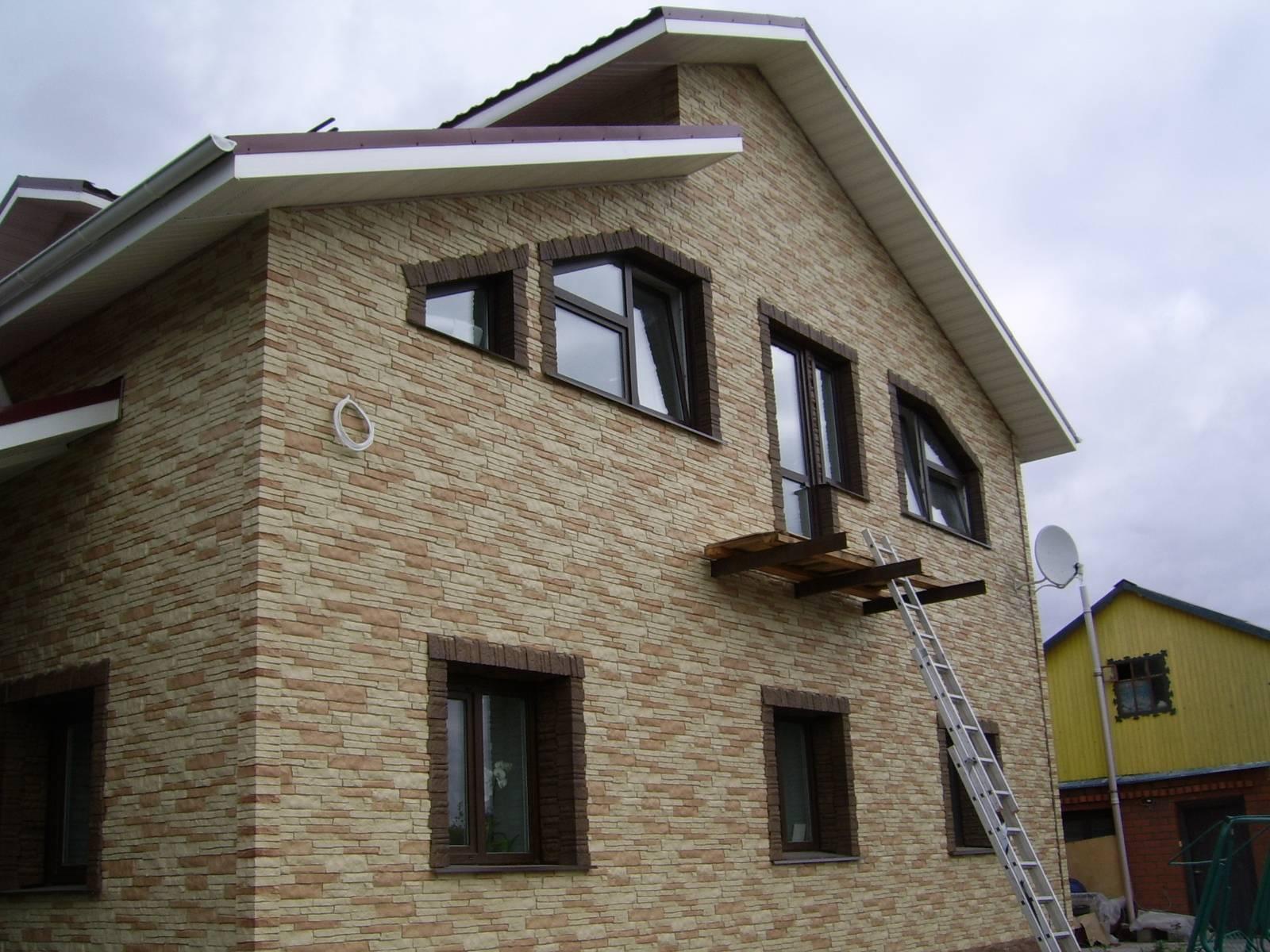 Облицовка фасада дома какой материал лучше подойдет для этих целей