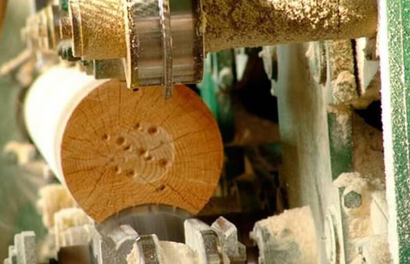 Технология сборки сруба из бревна