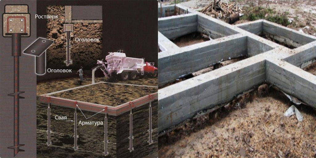 Виды бетонных свай и их использование в строительстве
