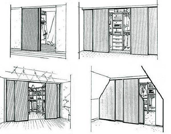 Как сделать гардеробную: планировка и наполнение