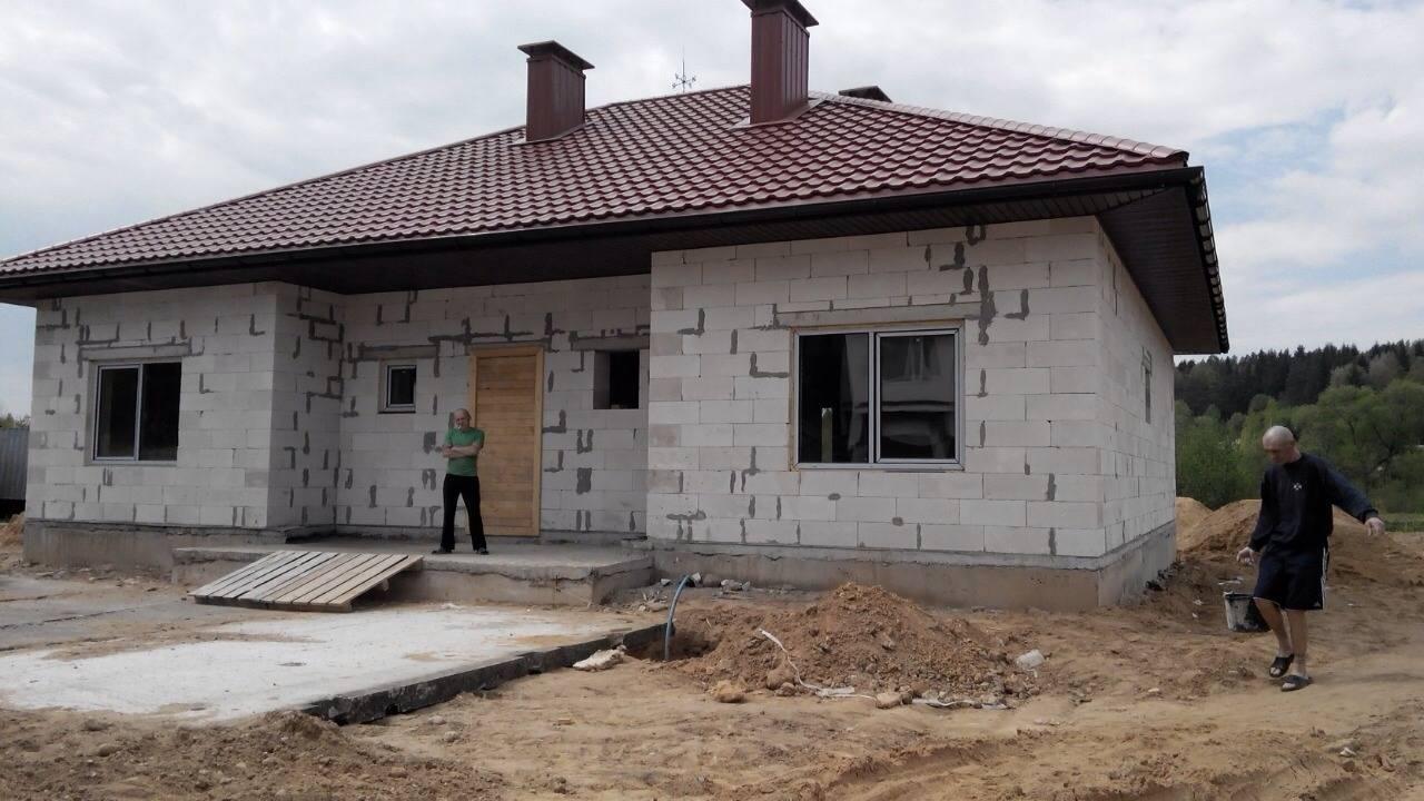 Дом из пеноблоков - основные этапы строительства. 150 фото готовых дизайн-проектов