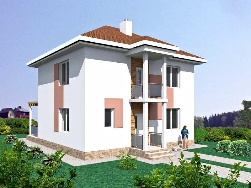 Каталог современных проектов домов из газобетона и пеноблоков