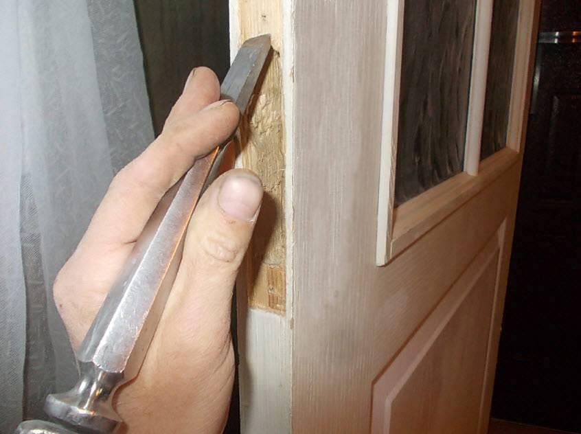 Установка межкомнатных дверей своими руками: фото, видео