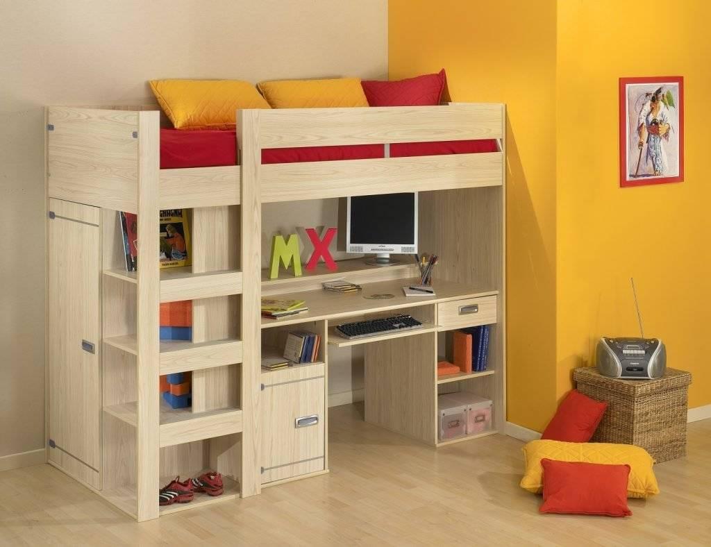 Детская кровать-чердак: мебель для детей, что собой представляет, преимущества и недостатки, что нужно учитывать при выборе