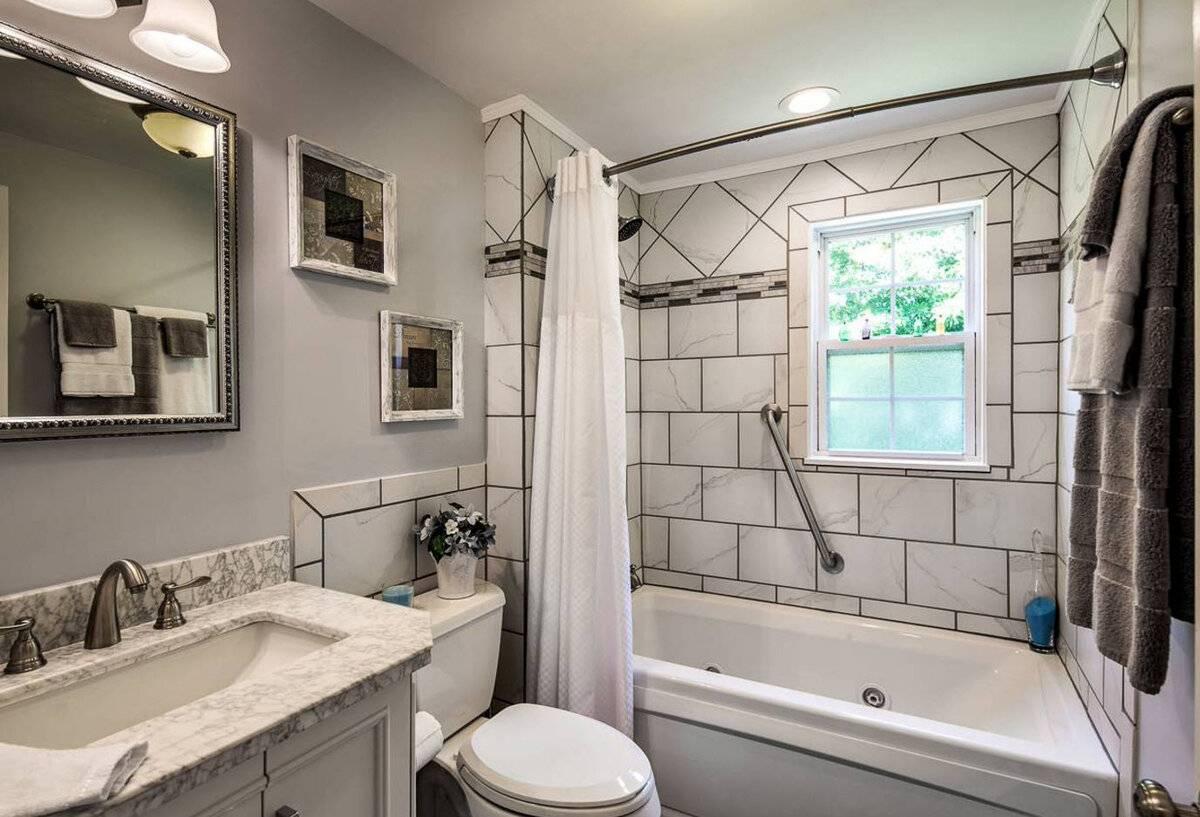 Ремонт ванной комнаты своими руками: интересные идеи для интерьера