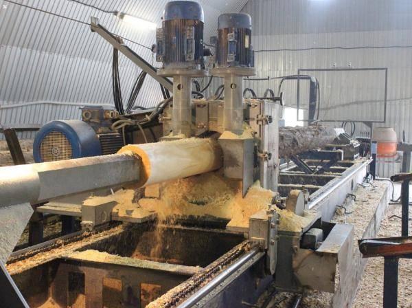 Технология и процесс изготовления оцилиндрованного бревна