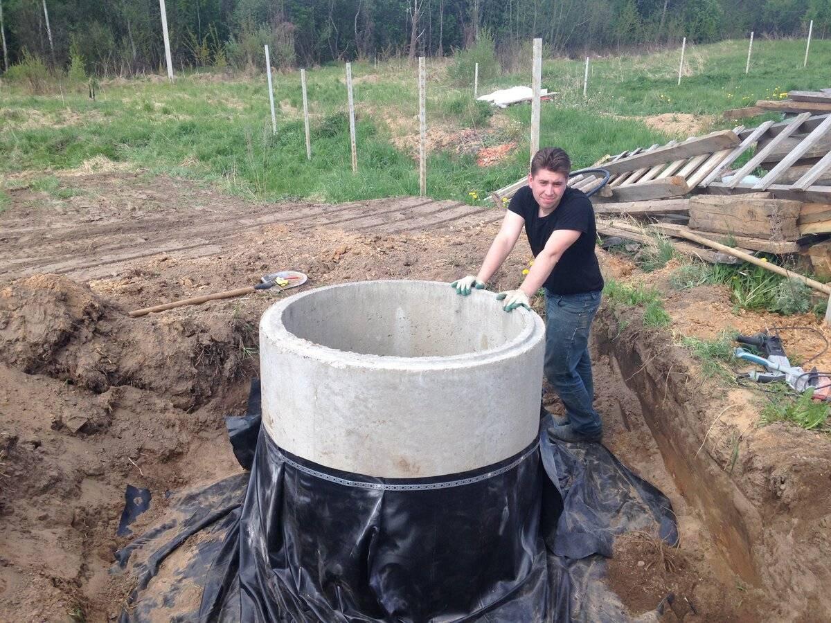 Как сделать колодец на дачном участке — выкапываем самостоятельно