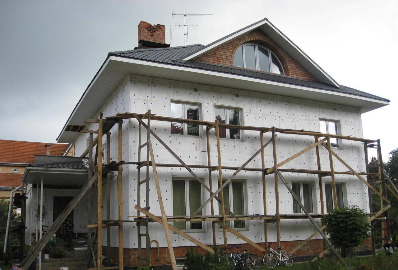 Можно ли утеплить деревянный дом снаружи пенопластом - лучшие фасады частных домов