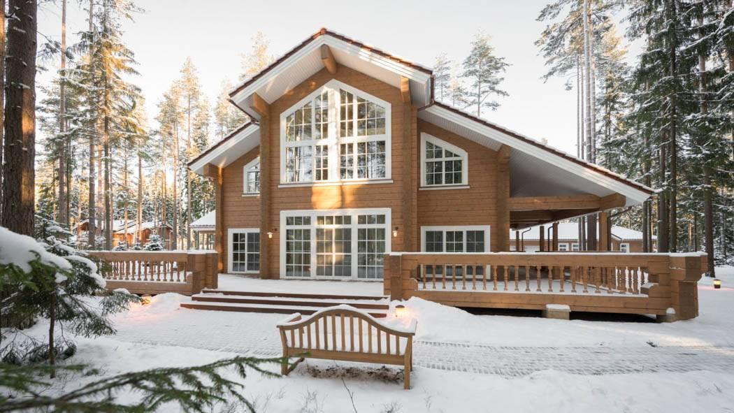Дома из клееного бруса - строительство под ключ и проекты | низкие цены | русский стиль