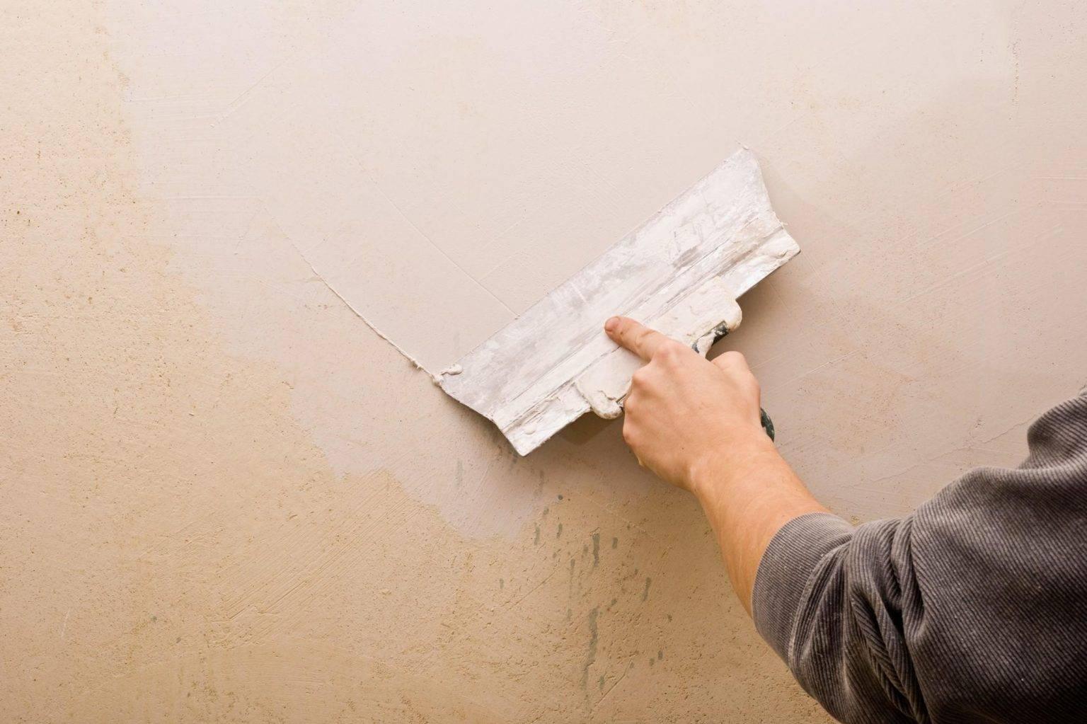 Шпаклевка стен под покраску своими руками пошагово