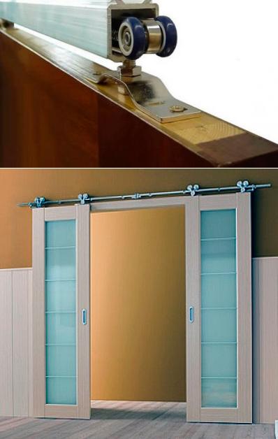 Монтаж раздвижных дверей своими руками