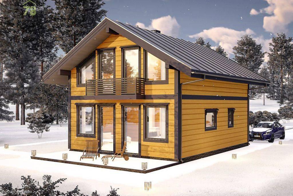 Двойной брус: строительство дома по финской технологии. дом из двойного бруса: отзывы