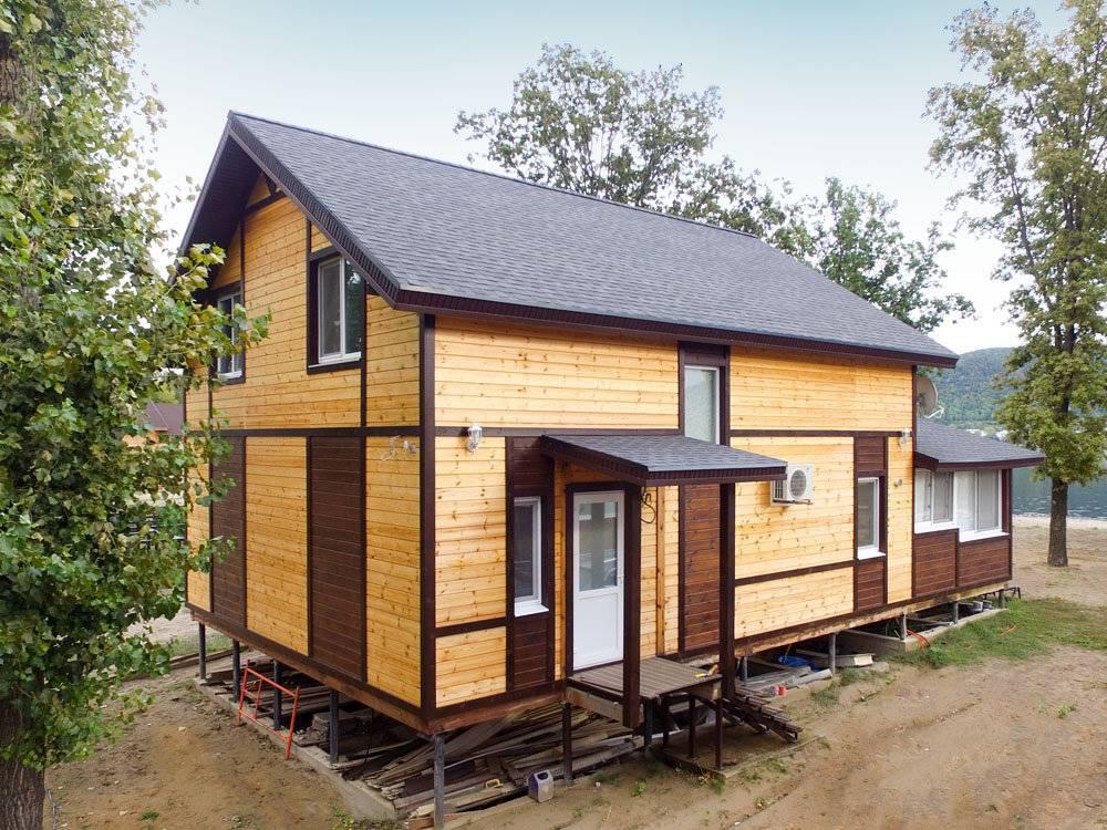 Каркасно щитовые дома: плюсы и минусы стройки и эксплуатации