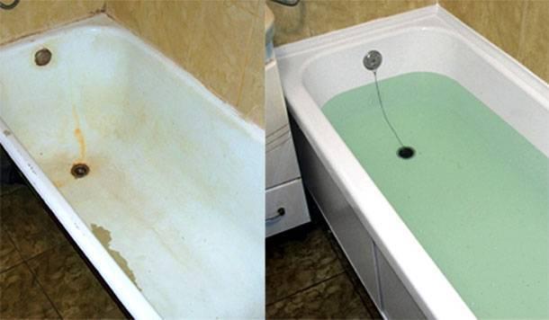 Акриловый вкладыш в ванну: виды, плюсы и минусы, как установить и снять