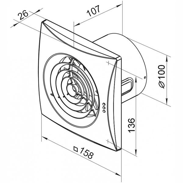 Как и какой выбрать вентилятор для ванной комнаты (фото, видео обзор)