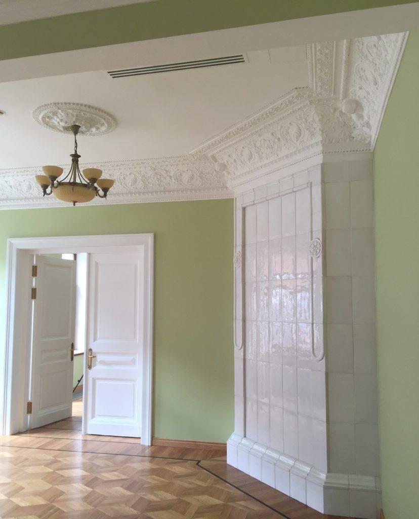 Восстановление лепнины на потолке своими руками. реставрация лепнины. методы реставрации лепнины