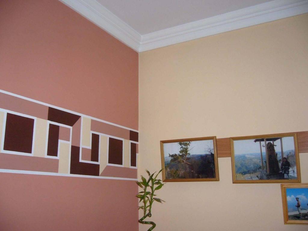 Технология правильной покраски стен в квартире своими руками: на видео и фото - способы