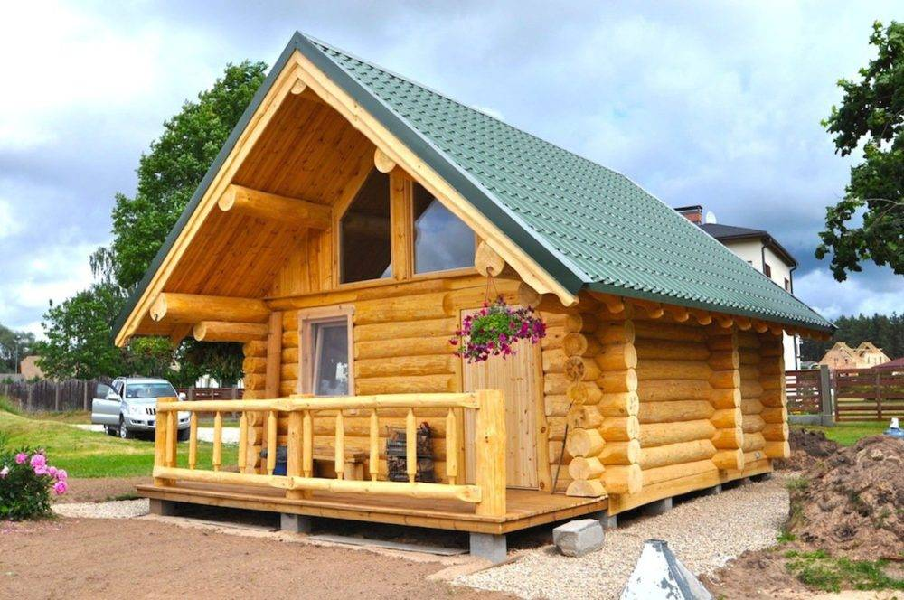 Деревянные дома из бревна  - самые красивые одноэтажные, двухэтажные и дома с мансардой